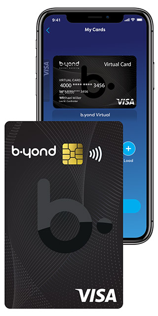 b.yond physical & virtual card